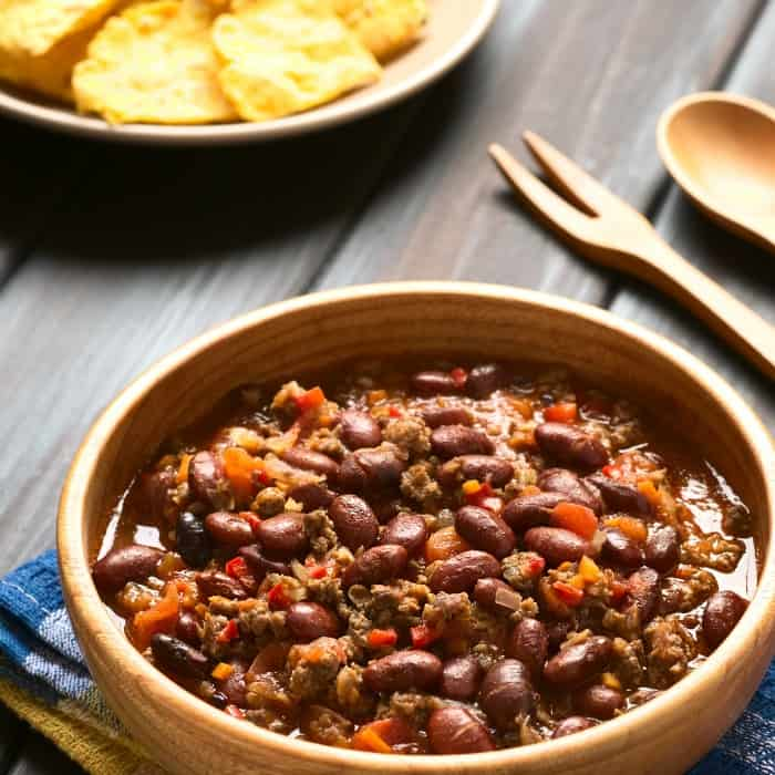 texas chili con carne recipe sq