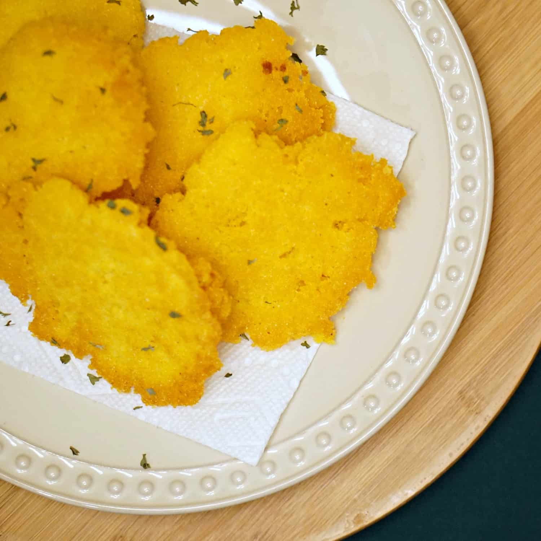 vegan and gluten-free hot water cornbread sq