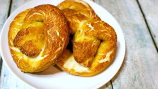 vegan homemade pretzels feature