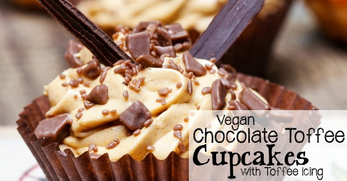 vegan toffee cupcake recipe fb