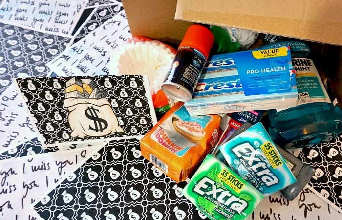 what to send a college student in a care package feature