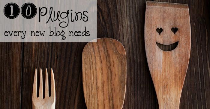 10 plugins every new blog needs fb