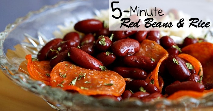 5-minute red beans and rice recipe fb2