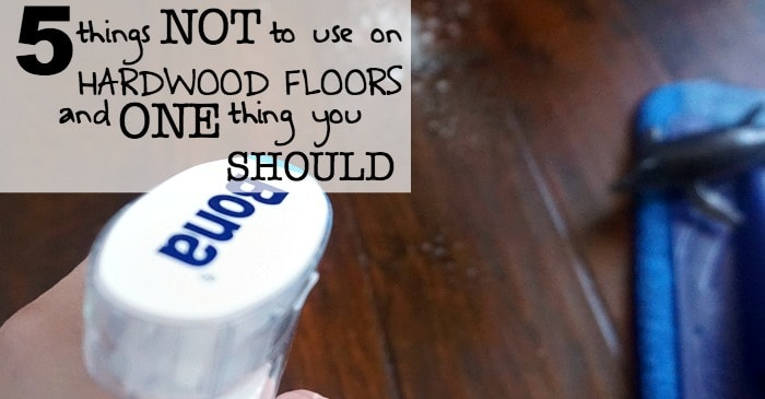 5 things not to use on hardwood floors and one thing you should fb