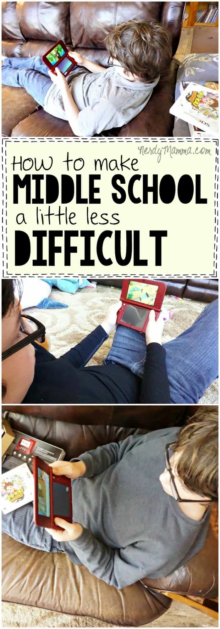 I love these ideas on how to make middle school a little less difficult for the kiddos going through it. Such great ideas.