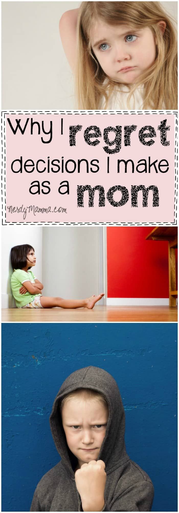 I love these throughs on how hard it is to discipline your kids--but why you have to do it anyway. It's good to know I'm not the only one...
