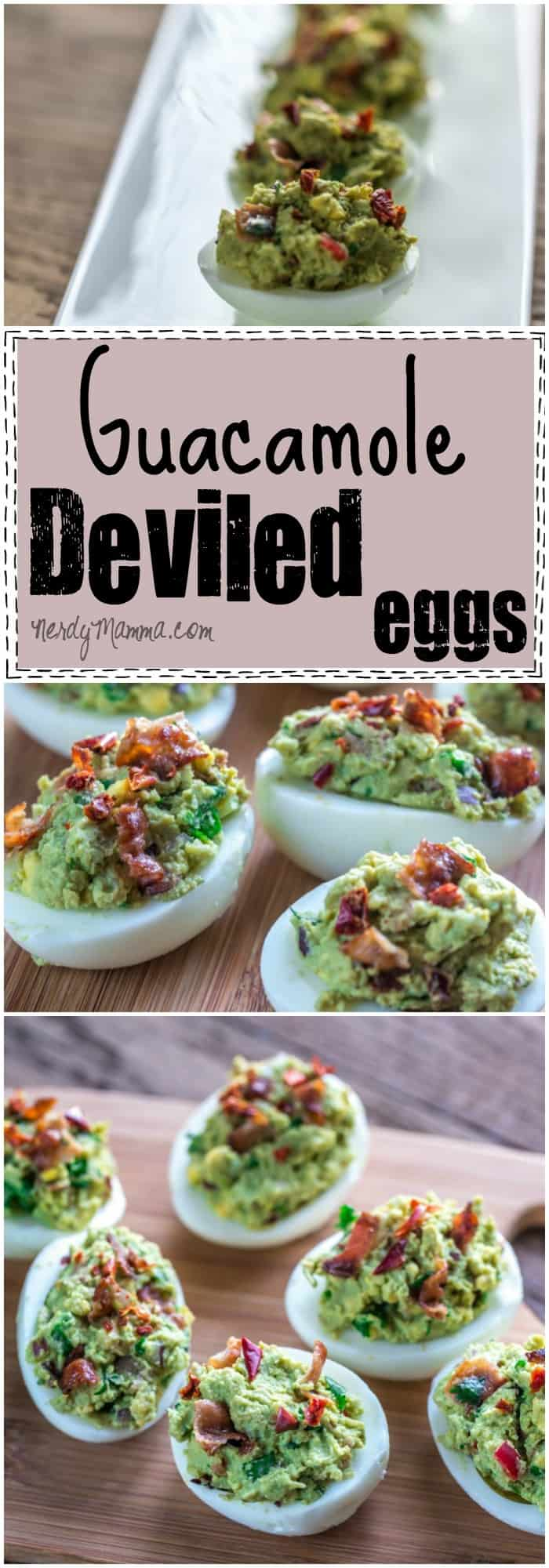I love this recipe for healthy deviled eggs!