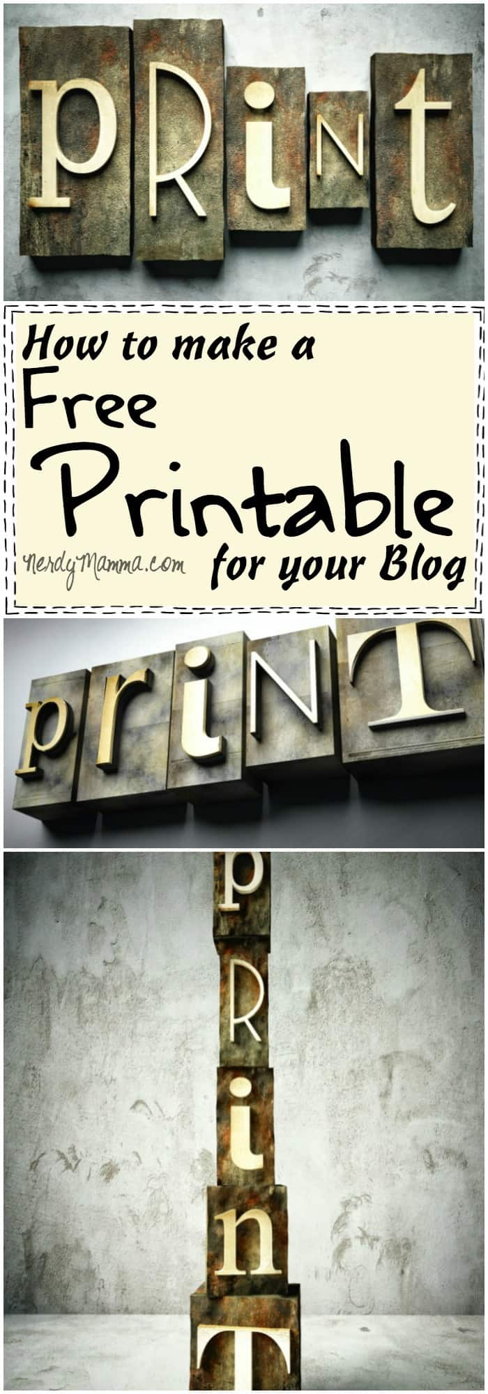 Such an easy tutorial for making a free printable for your blog! I love it!