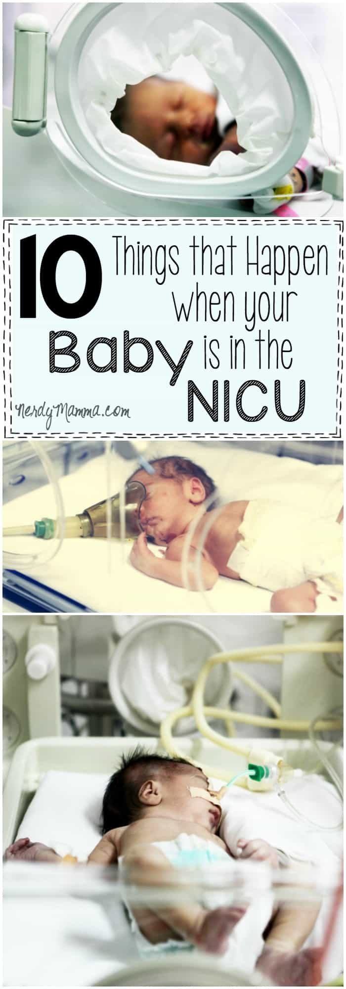 This article about what it feels like for your baby to be in the NICU is so so true. Brought back all the memories.