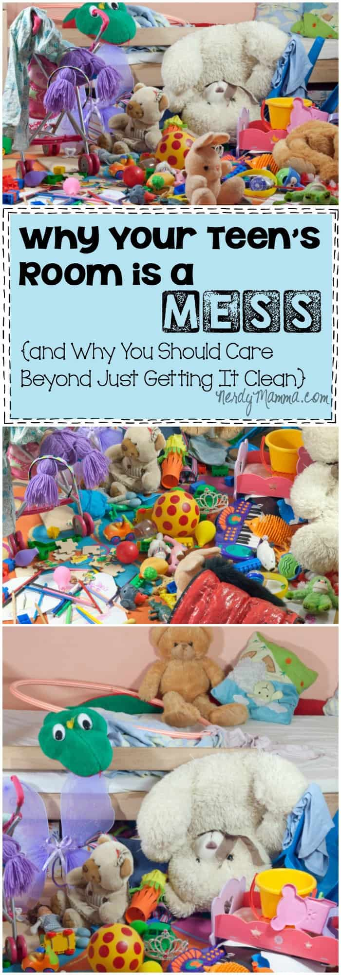 This insight into Why Your Teen's Room is a Mess makes me think about my kid and how they feel about themselves. i never, ever thought about it this way before. Brilliant.