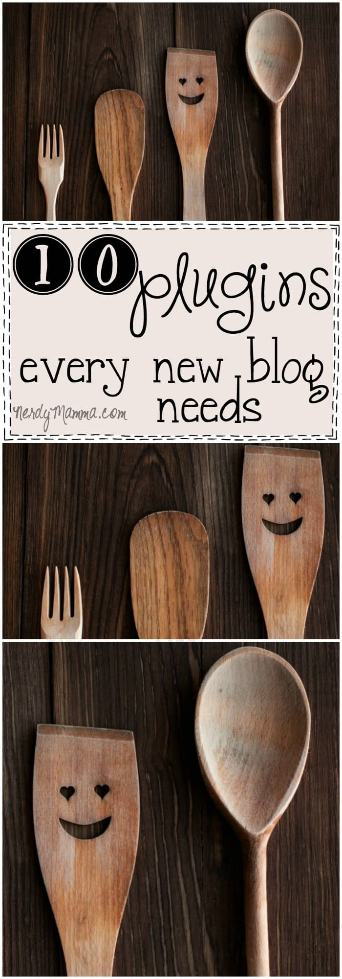 This list of 10 Plugins Every New Blog Needs is so awesome--I wish I'd had it when I first stared blogging. LOL!
