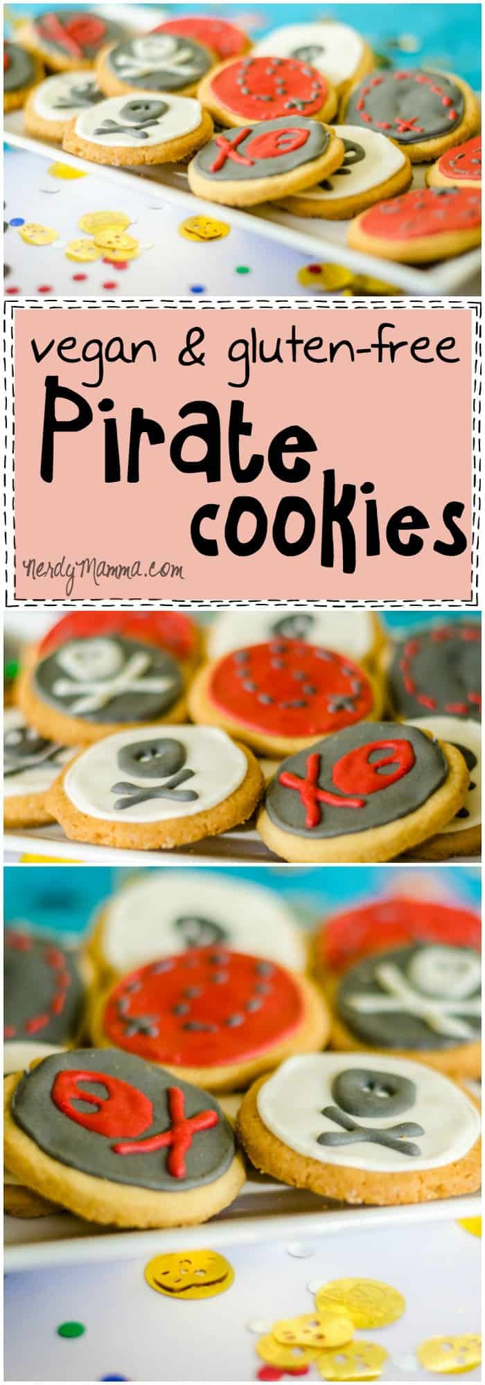 This recipe for vegan and gluten-free pirate cookies is so funny! I love it.