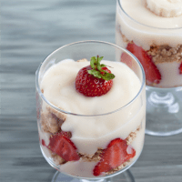 Gluten-Free and Vegan Strawberry Trifle