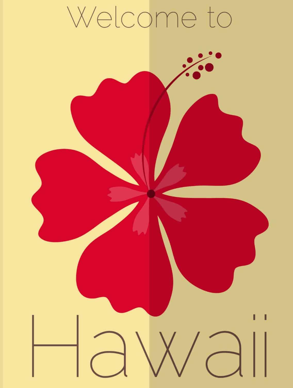 beautiful hawaii free printable artwork print