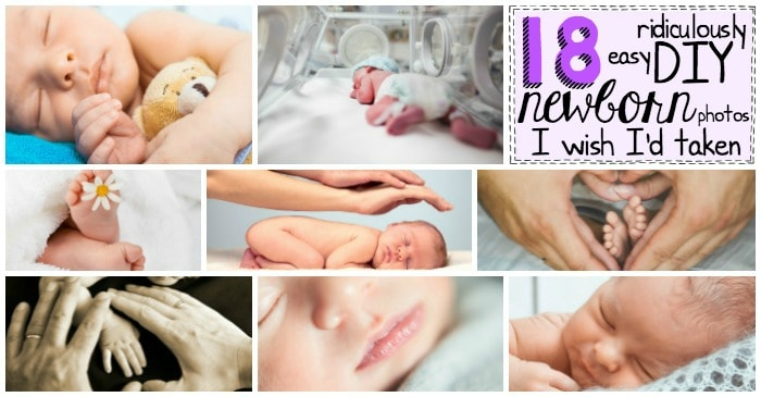 easy DIY newborn photos fb2
