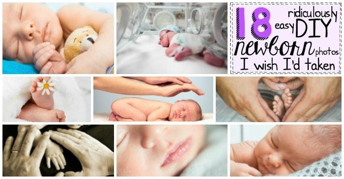 easy DIY newborn photos fb2