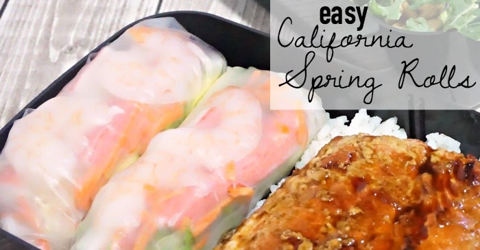 easy california spring roll recipe fb