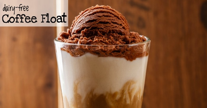 easy dairy-free coffee float recipe fb