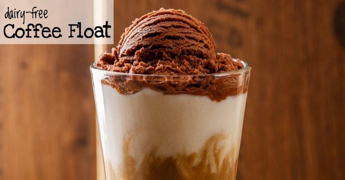 easy dairy-free coffee float recipe fb