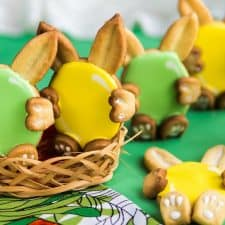 Vegan & Gluten-Free Bunny Sugar Cookies