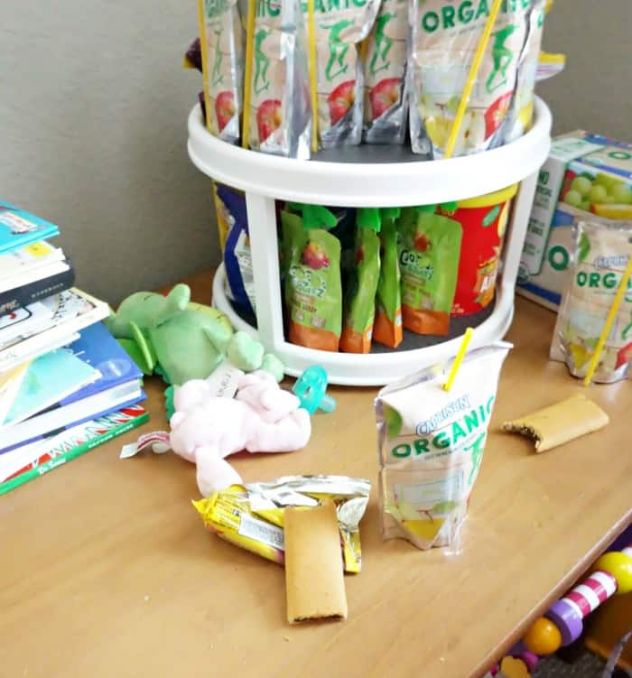 easy idea to help make snacktime less stressful random