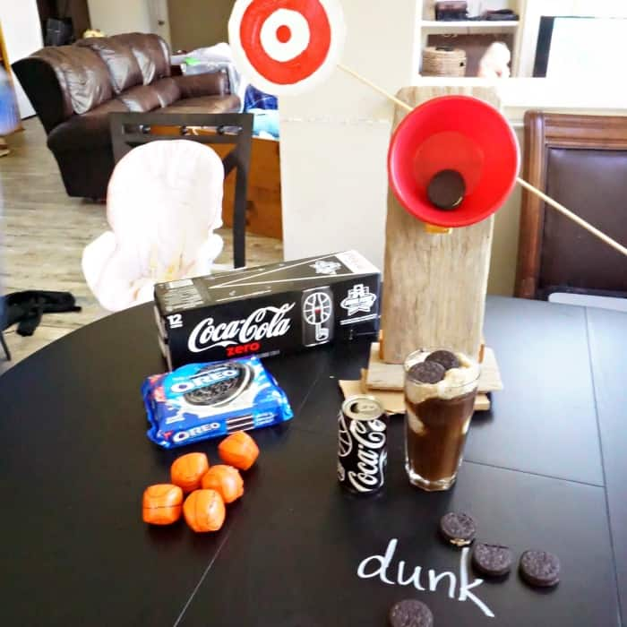 easy tutorial for a mini diy dunking booth sq