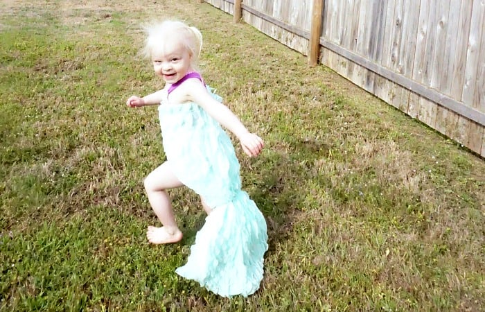 easy tutorial for making a mermaid tail cover-up feature