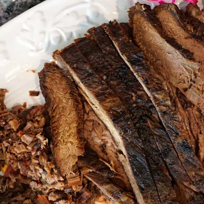 easy way to cook brisket sq