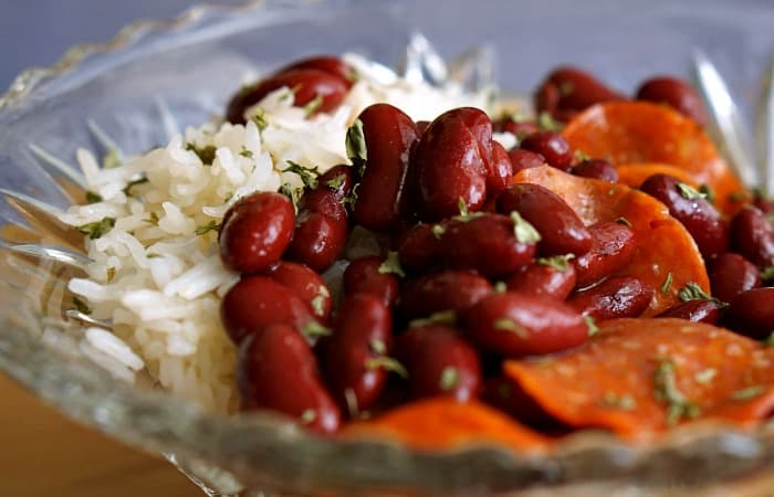 easy way to cook red beans and rice feature