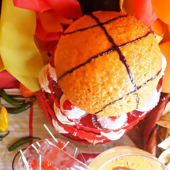 easy way to make a ball cake sq