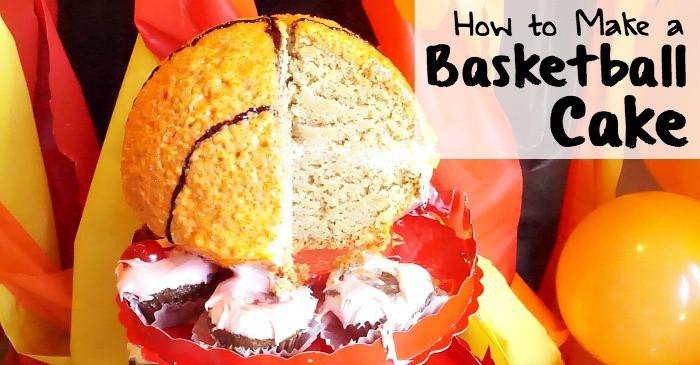 easy way to make a ball-shaped cake fb