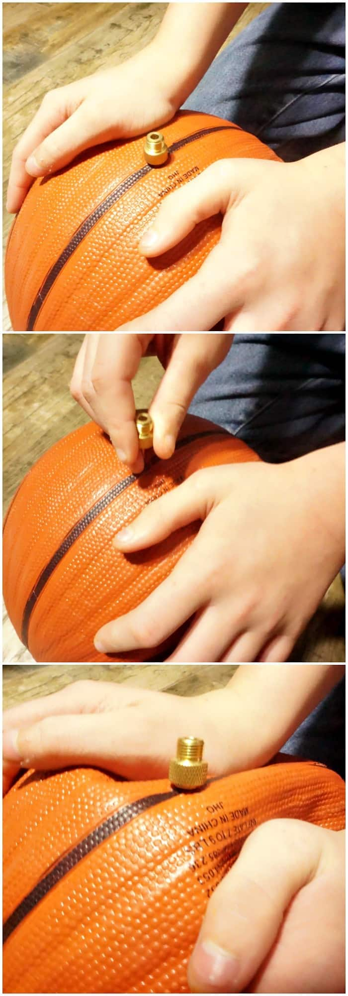 easy way to make a bowl out of a basketball tutorial