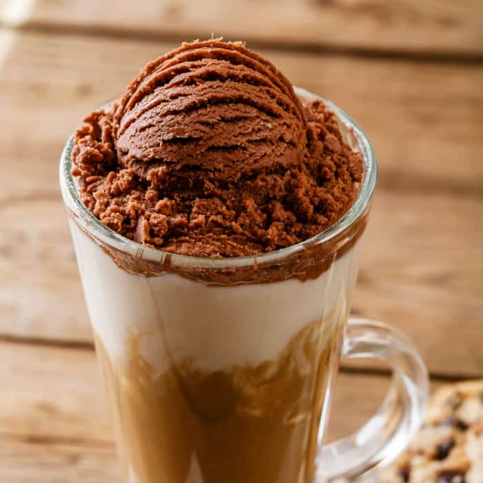 how to make a coffee float sq