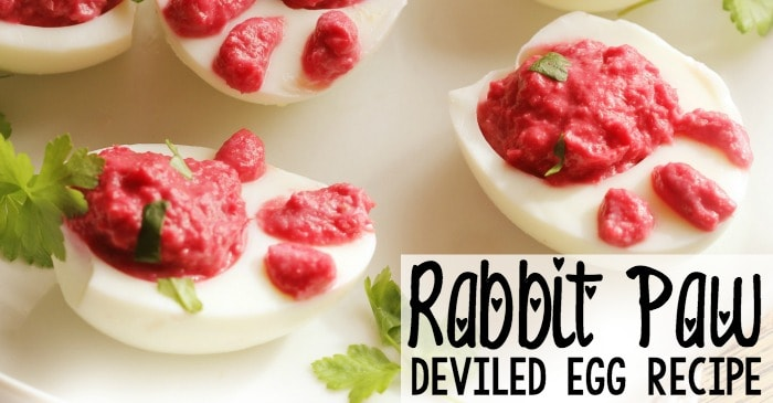 how to make deviled eggs that look like rabbit paws fb