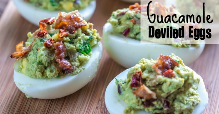 how to make deviled eggs with guacamole fb