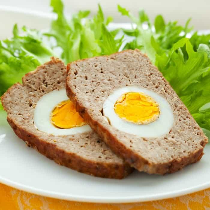 how to make stuffed egg meatloaf sq