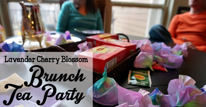 lavender cherry blossom brunch tea party fb
