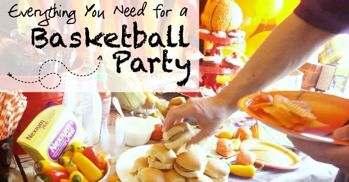 put together a basketball party