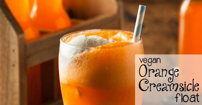 vegan orange creamsicle float fb