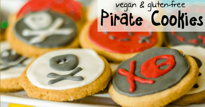 vegan pirate cookie recipe fb