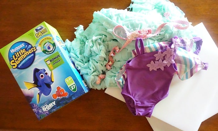 what do you need to make a mermaid tail for a baby's swimsuit ingredients