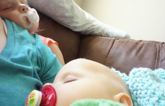 why I hold my toddler when she naps feature