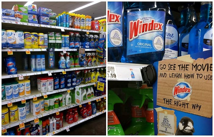 windex instore