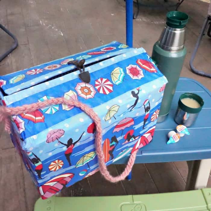 DIY picnic basket project sq