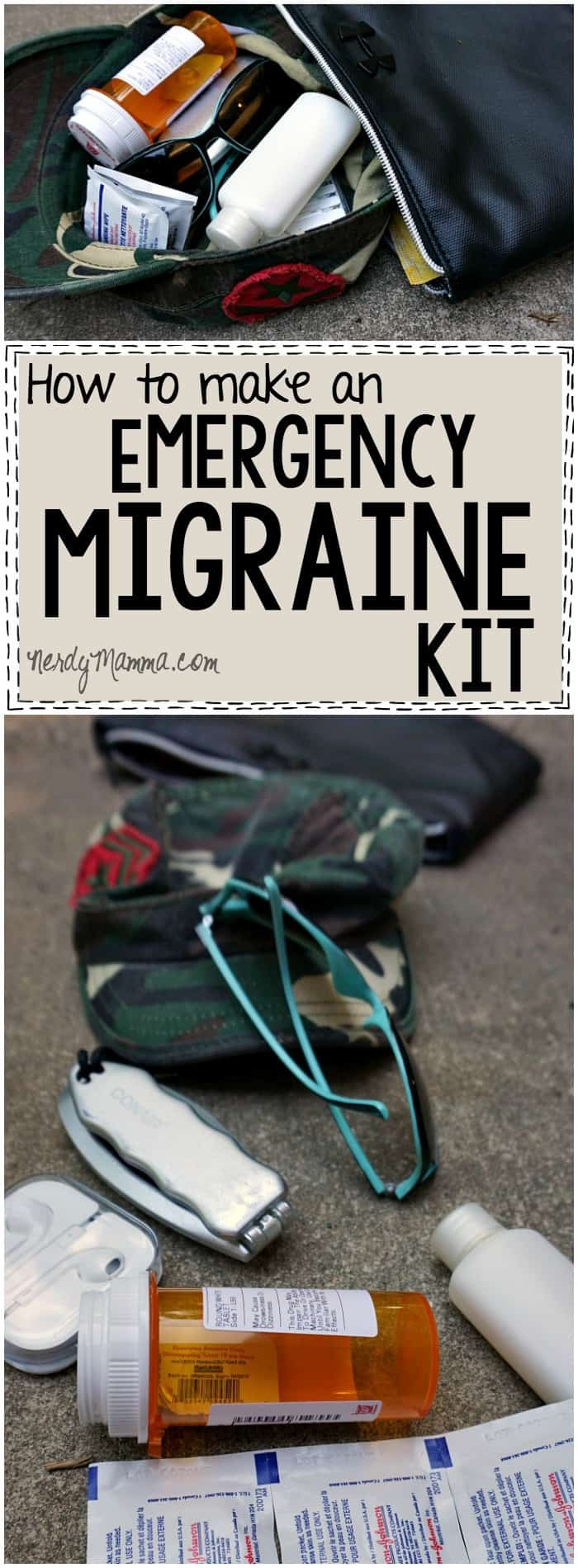 I love this idea! So fantastic to be prepared for an unexpected migraine! #ad