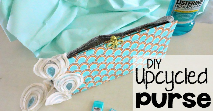 It's a DIY Upcycled purse from a Diaper Box Yippee! fb