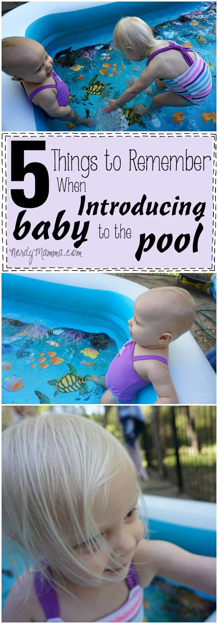 These tips for successfully introducing a baby to water are so awesome. I love it!