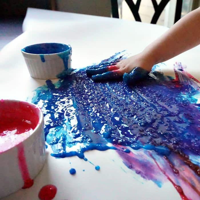 easy recipe for allergy-friendly finger paints you can eat sq