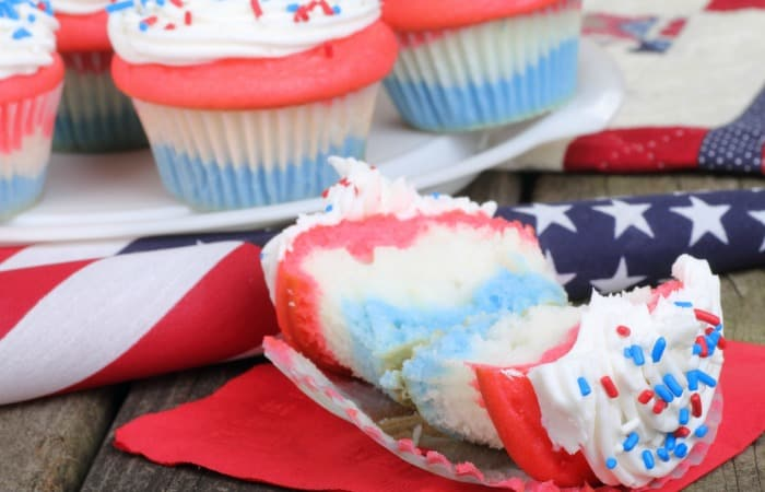 easy recipe for american flag cupcakes without wheat feature