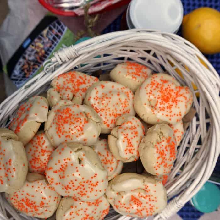 easy recipe for vegan orange juice cookies sq